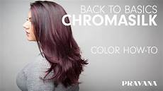 Pravana Hair Color Chart Pravana 180 Chromasilk Back To Basics Hair Color How