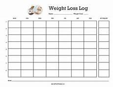 Weight Calendar Chart Printable Weight Loss Chart Template Business