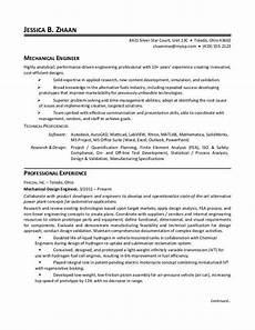 Examples Of Mechanical Engineering Mechanical Engineer Resume Sample Monster Com