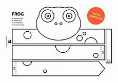 Malvorlage Frosch Mit Krone Frog Paper Crown Printable Coloring Crown Coloring