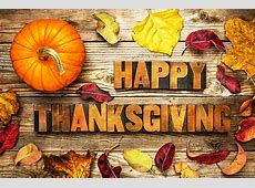 Happy Thanksgiving 2018   Events   Bariatric Cookery