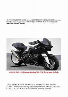 Bmw K1200s K1200r K1200r Sport K1200gt K1300s K1300r