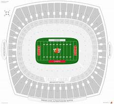 Many Rows Kinnick Stadium Seating Chart How Many Rows Are In Each Section At Arrowhead Stadium For