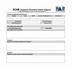 Non Compliance Report Sample Non Conformance Report Template Business