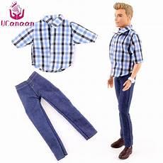 ucanaan toys 1 pc ken doll s clothes suit casual wear