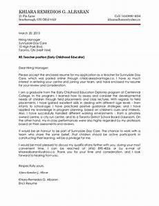 Early Childhood Cover Letter Early Childhood Cover Letter Resume Writinghtml Web Fc2 Com
