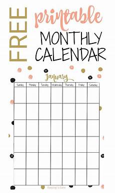 Free Monthly Printable Calendar Free Vertical Printable Monthly Calendar Keeping Life Sane