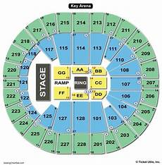 Key Arena Seating Chart Seating Charts Amp Tickets