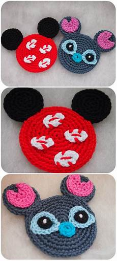 lilo and stitch minnie and mickey pattern by olga