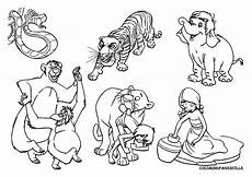 the jungle book coloring pages