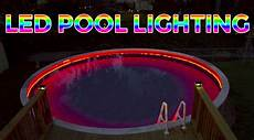 Above Ground Pool Lights How To Install Above Ground Led Pool Lights Super Bright