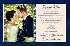 Wedding Thank You Card Examples Free 27 Thank You Card Examples In Psd Ai Eps Vector