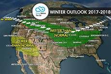 Snow Chart 2017 2017 2018 Winter Weather Forecast Predictions Outlook
