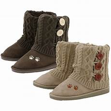 paw print mid rise knit boots the animal rescue site