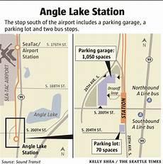 Seattle Light Rail Angle Lake Station Angle Lake Light Rail Station Opens Saturday With Party
