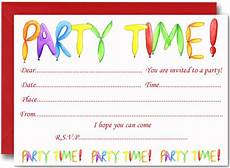 Downloadable Birthday Party Invitations Free Birthday Party Invites For Kids Free Printable