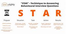 Behavioral Interview Star Blog One Eighty Recruitment