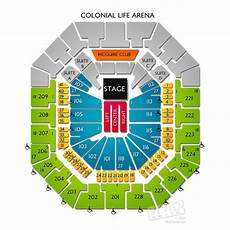 Colonial Life Arena Seating Chart Colonial Life Arena Tickets Colonial Life Arena