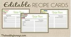 Editable Recipe Page Template 15 Free Recipe Cards Printables Templates And Binder Inserts
