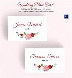 Wedding Place Cards Templates Free Free Printable Wedding Place Cards That Are Versatile