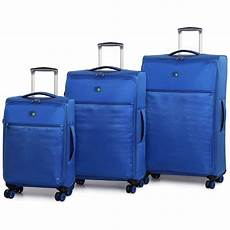 Ultra Light Suitcase The Lite Ultra Lightweight Suitcase 70cm Blue Luggage