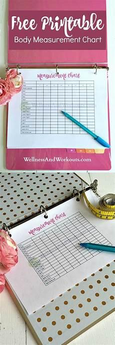 Free Printable Body Measurement Chart Free Printable Body Measurement Chart T Tapp Inspired