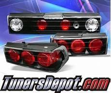 88 Crx Lights Sonar 174 Altezza Lights Black 88 91 Honda Crx Alt Yd