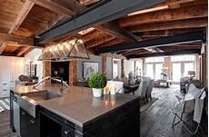 luxury canadian home reveals splendid rustic modern