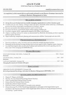 Successful Resume Format Student Resume Example Sample Resumes For Students