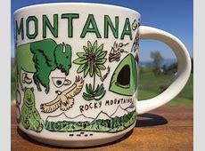 Been There ? Montana ? Starbucks Mugs