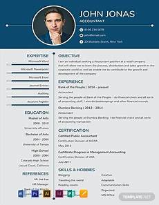 One Page Resumes 91 Free One Page Resume Templates Word Doc Psd