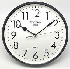Fashionable Large Wall Clock Home Office by 10 Quot Sweep Quartz Silent Large Stylish Office Home