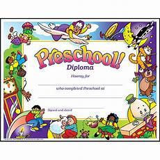 Preschool Graduation Certificates Pre K Kindergarten Cap Gown Tassel And Diploma