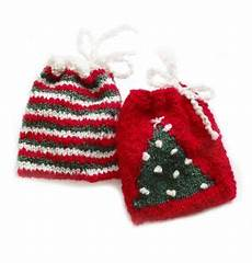 weihnachtsgeschenke stricken gift bag set easy gift giving knitting