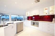 back painted glass kitchen backsplash intensify the look of your kitchen with 20 glass back