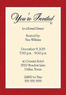 Dinner Invites Templates Free Dinner Invitation Template Free Places To Visit