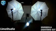 How To Use Umbrella Lights In Video Limostudio Umbrella Lighting Kit Unboxing Setup Amp Review