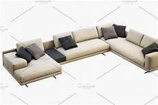 Small Chaise Sofa 3d Image by Mondrian Chaise Lounge Sofa 3d Model In 2020 Chaise