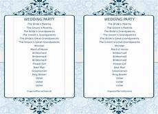 Program Word Template 8 Word Wedding Program Templates Free Download Free
