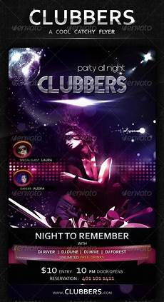 How To Make Cool Flyers Flyer Templates Graphicriver Clubbers A Cool Catchy