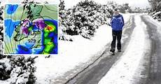 Snow Chart 2017 Irish Weather Met Eireann Forecast Chance Of Snow For