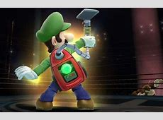 Luigi's Poltergust Vacuum to Make an Appearance in New