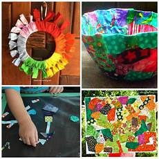 fabric crafts preschool fabric scrap crafts and activities for what can we