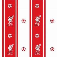 Liverpool Wallpaper Ebay by Decofun Official Liverpool Football Club Striped Feature