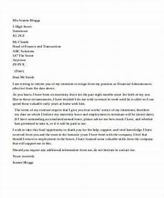 Nanny Resignation Letter Nanny Resignation Letter Sample Resignation Letter