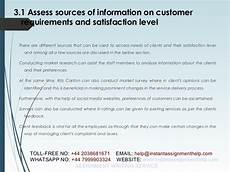 Customer Service Requirements Customer Service Sample Assignment Instant Assignment Help