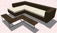 Two Tone Sofa 3d Image by Outdoor Sofa In L 3d Skp Model For Sketchup Designs Cad