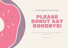 It Goodbye Checks Design Customize 73 Farewell Card Templates Online Canva