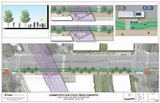Cycle Track Design Cycle Track Could Be Coming To Chevy Chase Lake