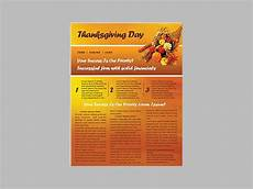 Thanksgiving Newsletter Template Free 33 Free Newsletter Templates Free Psd Ai Vector Eps